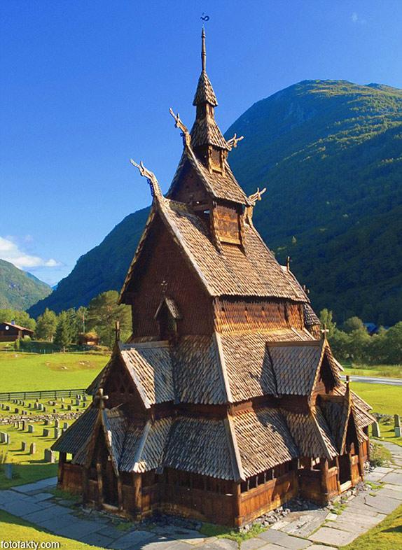 Самые необычные церкви мира Фото 1