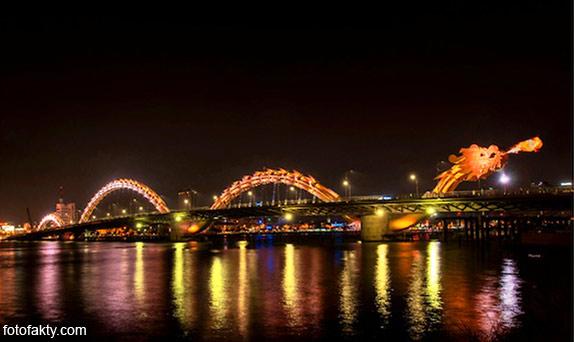 Мост дракона во Вьетнаме Фото 1