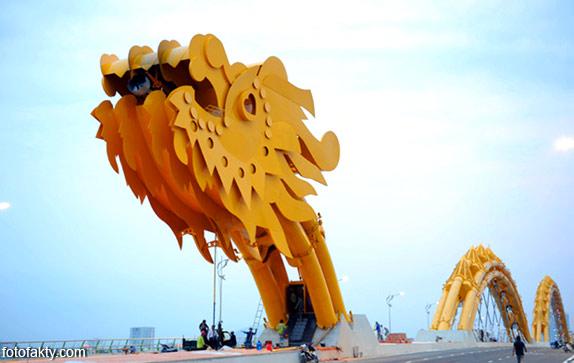 Мост дракона во Вьетнаме Фото 2