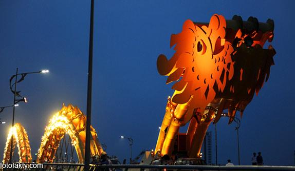 Мост дракона во Вьетнаме Фото 6