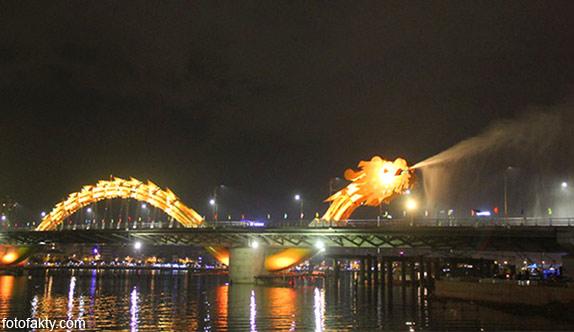 Мост дракона во Вьетнаме Фото 7