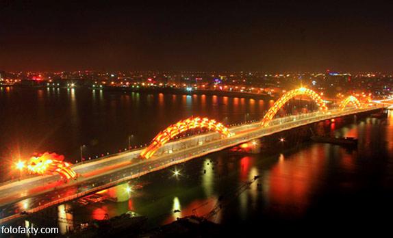 Мост дракона во Вьетнаме Фото 8