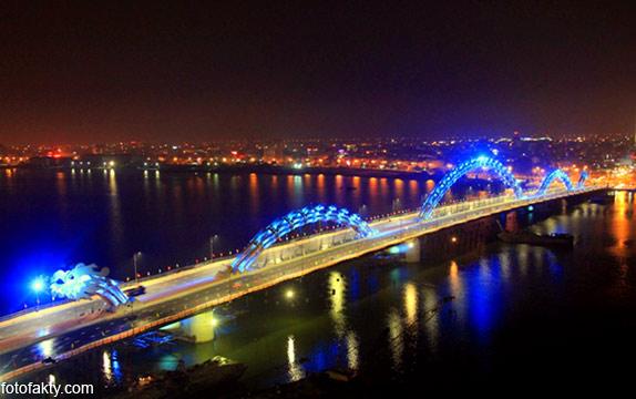 Мост дракона во Вьетнаме Фото 9