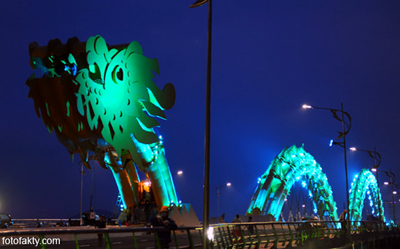 Мост дракона во Вьетнаме Фото 5