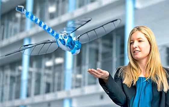 Попрыгунья-стрекоза: летающий робот от Festo