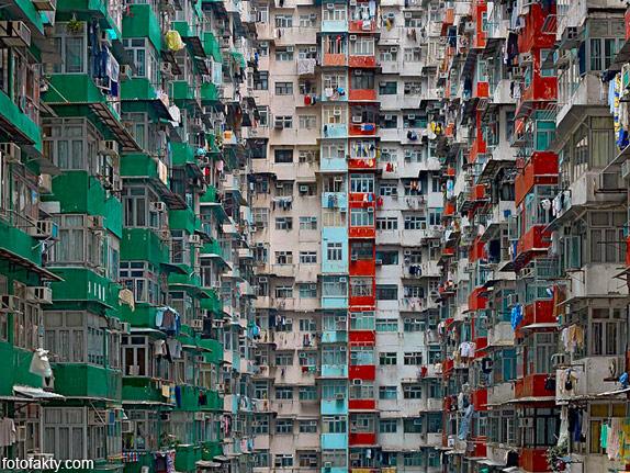 Архитектура плотности - Гонконг Фото 9