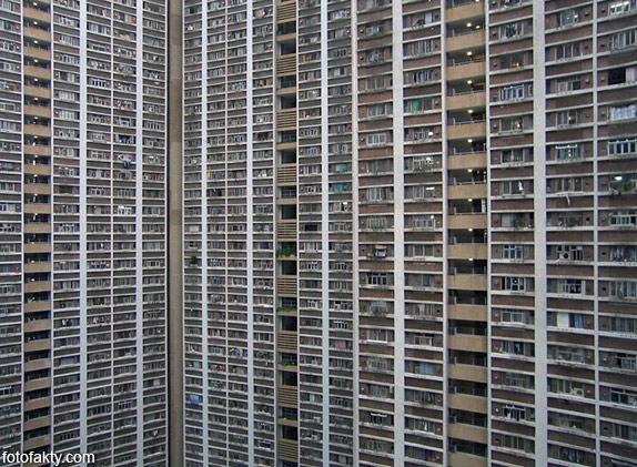 Архитектура плотности - Гонконг Фото 7