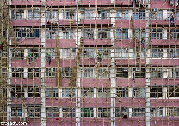 Архитектура плотности - Гонконг Фото 8