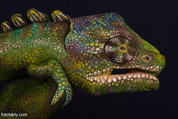 Невероятный боди-арт Гвидо Даниэле Фото 6