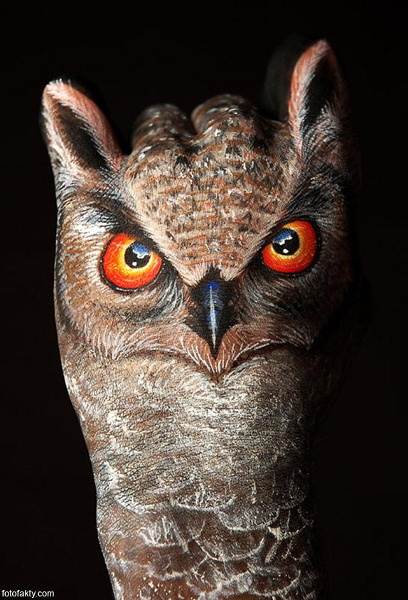 Невероятный боди-арт Гвидо Даниэле Фото 9