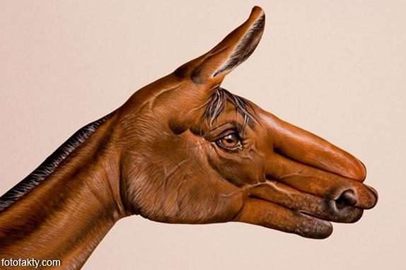 Невероятный боди-арт Гвидо Даниэле Фото 11