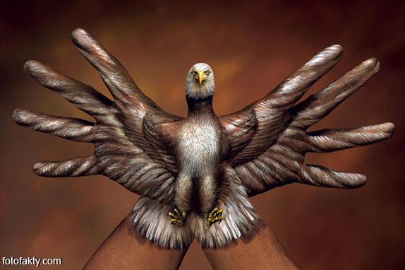 Невероятный боди-арт Гвидо Даниэле Фото 12