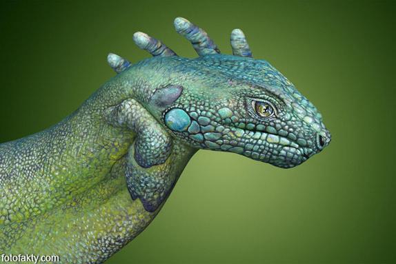 Невероятный боди-арт Гвидо Даниэле Фото 15