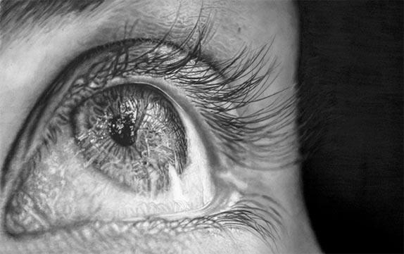 Джоно Драй и его фотореалистичные рисунки карандашом