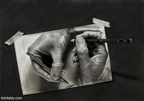 Джоно Драй и его фотореалистичные рисунки карандашом Фото 2