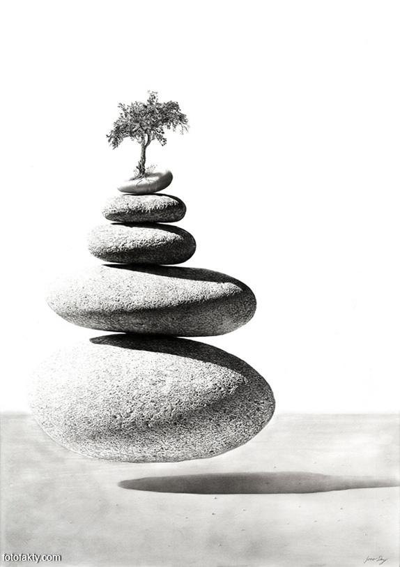 Джоно Драй и его фотореалистичные рисунки карандашом Фото 7