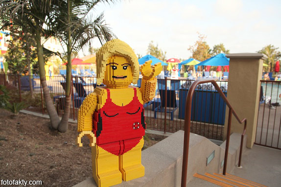 Первый в мире Lego отель Фото 19