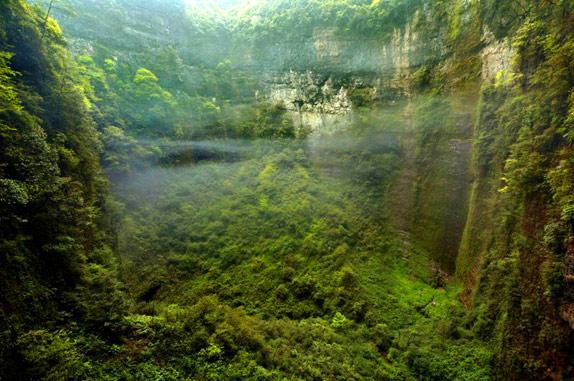 Затерянный мир в китайской пещере