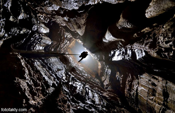 Огромная пещерная система в китайской провинции Чунцин Фото 4