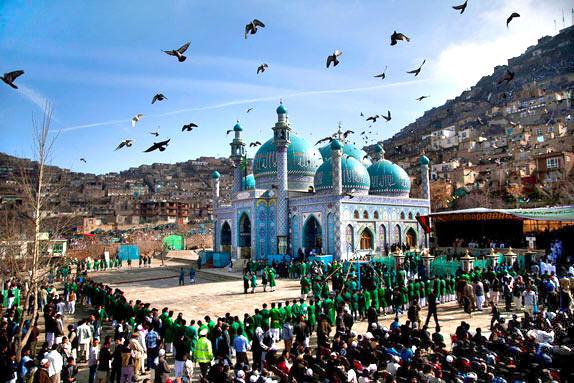 Средняя Азия празднует Нoвруз - Персидский новый год