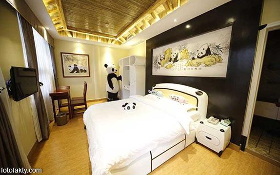 Тематический панда-отель в Китае Фото 2