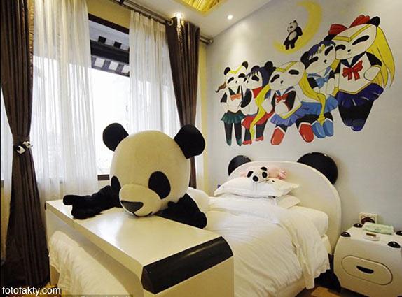 Тематический панда-отель в Китае Фото 3