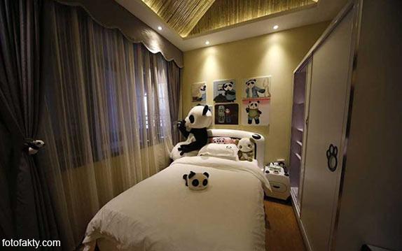 Тематический панда-отель в Китае Фото 10