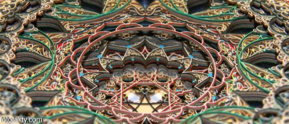 3D витражные окна из бумаги Фото 7