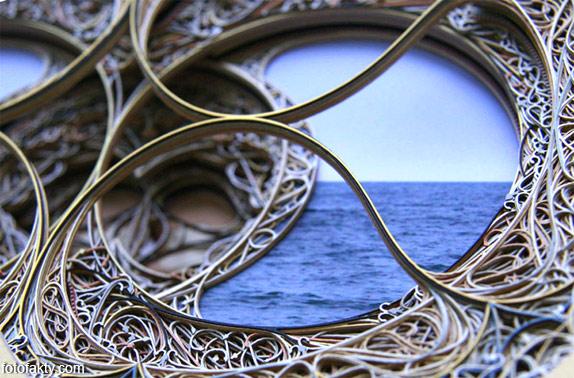 3D витражные окна из бумаги Фото 14