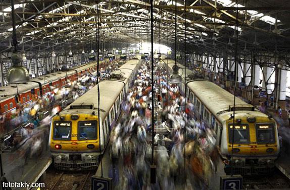Железная дорога в Индии Фото 1