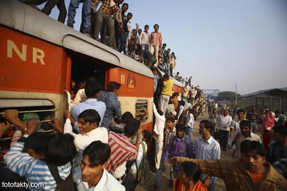 Железная дорога в Индии Фото 15