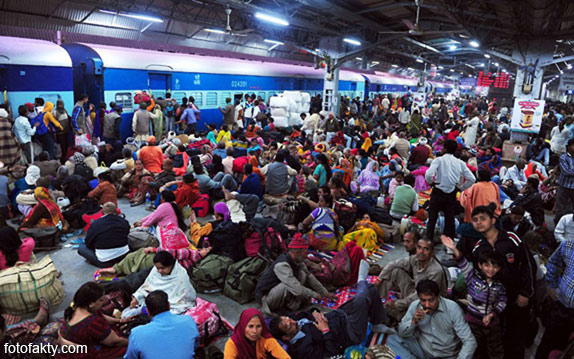 Железная дорога в Индии Фото 11
