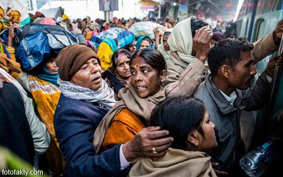 Железная дорога в Индии Фото 7