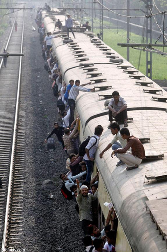 Железная дорога в Индии Фото 14