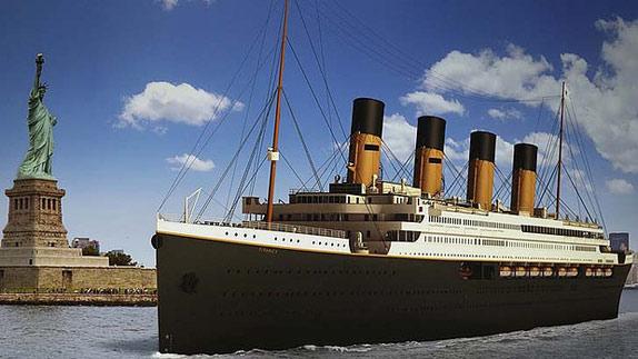 Возвращение легенды - Титаник II