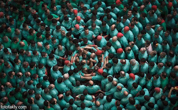 Человеческие башни Таррагоны Фото 2