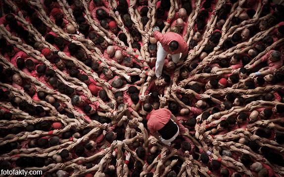 Человеческие башни Таррагоны Фото 3