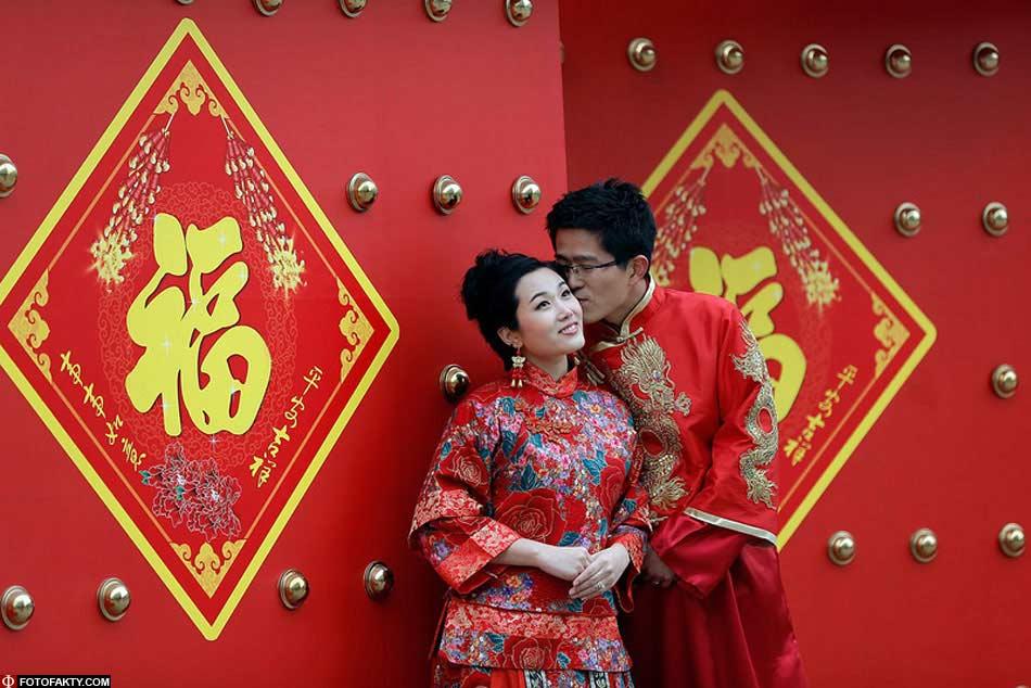 Китайский новый год свадьба